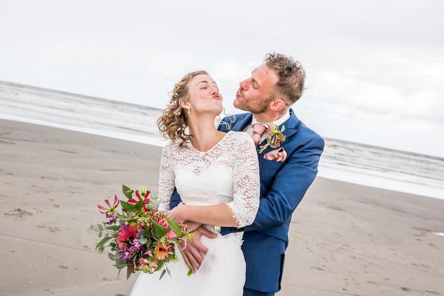 Trouwfotograaf Den-Haag spontane trouwfoto's